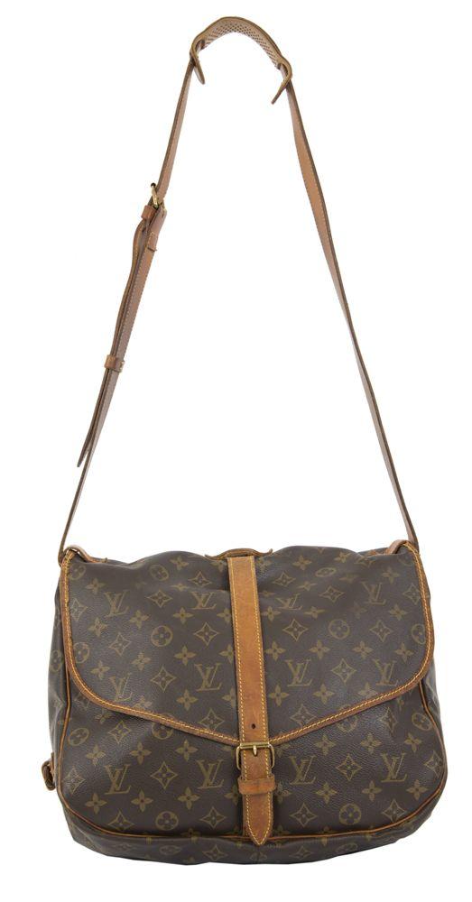 Preownedhandbags Co Uk Louis Vuitton Saumur 35 Handbag