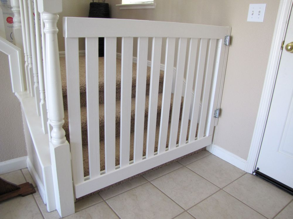 Baby Gate For Iron Railings?