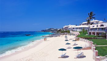 When I Think Of Bermuda The Pink Beach Club With Soft Sand Beachside Villas And Parrot Fish