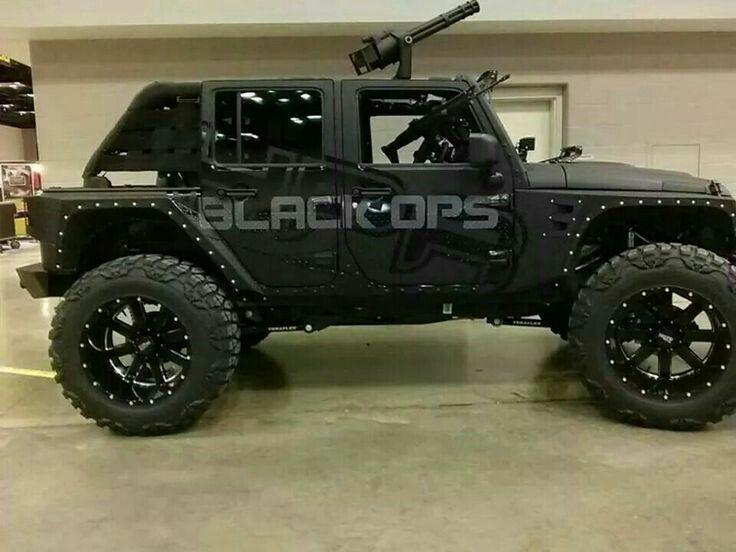 Hpr Black Ops Jeep Wrangler Custom Tactical Vehicles Pinterest