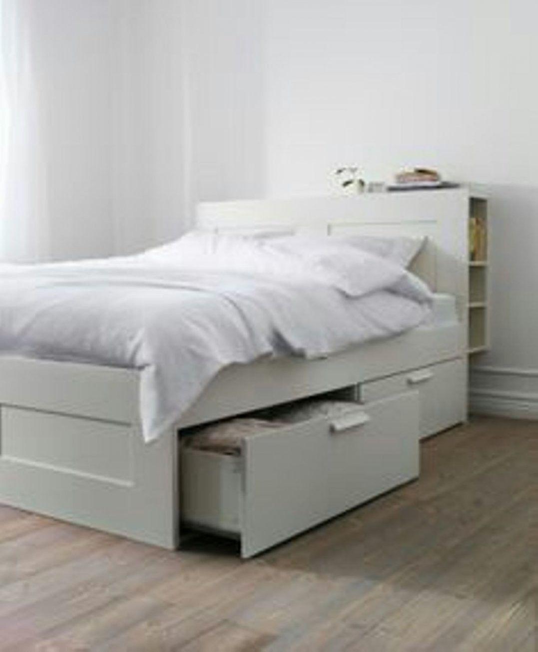Welches Bett Kaufen Fresh Ikea Brimnes Bett 160 200 Dengan Gambar