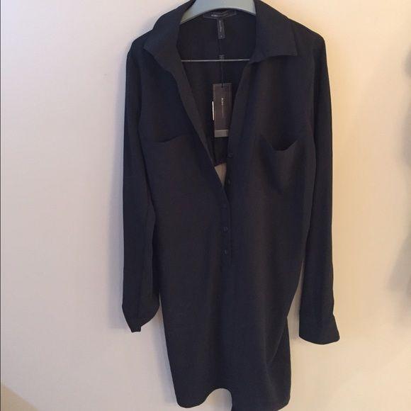 05b4827812ae NWT BCBG MaxAzria long sleeve shirt dress Brand new never worn BCBG  MaxAzria dress. Long