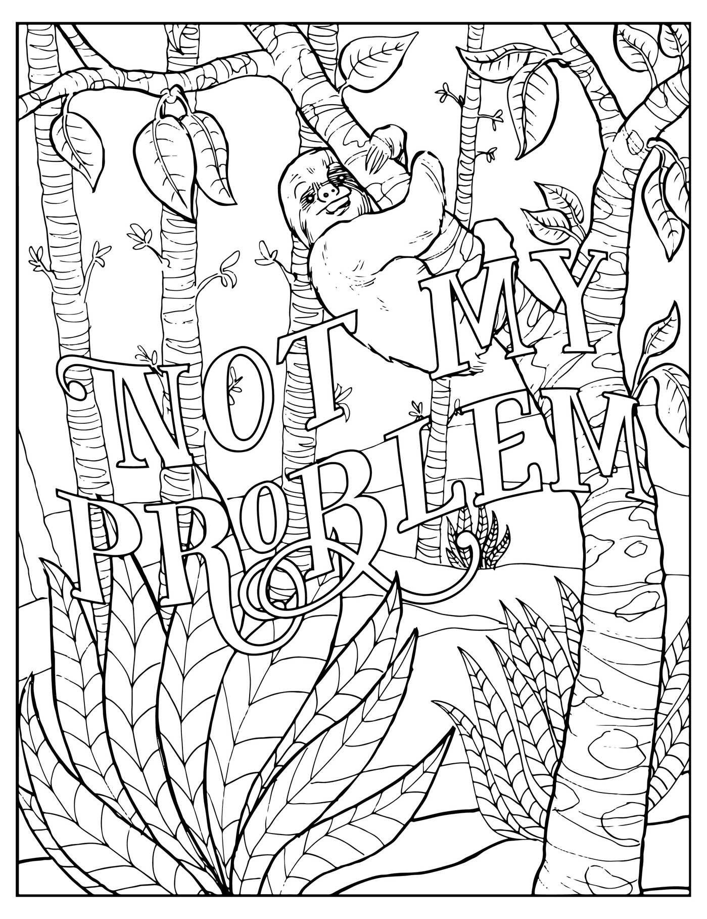 K coloring pages for adults - Coloring Books
