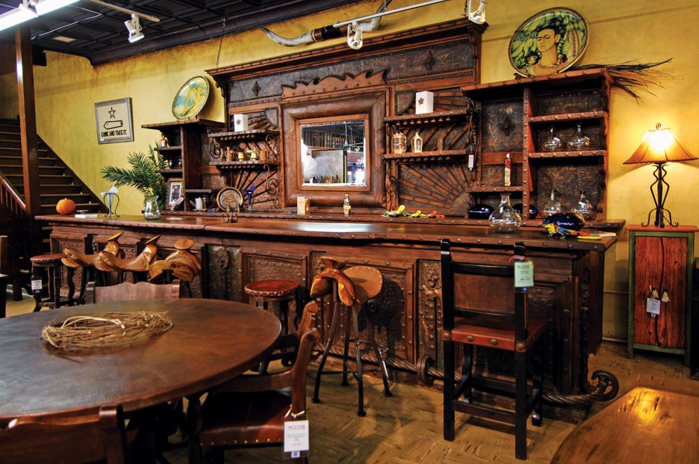 Texas ranch interiors bar concept home bars wine