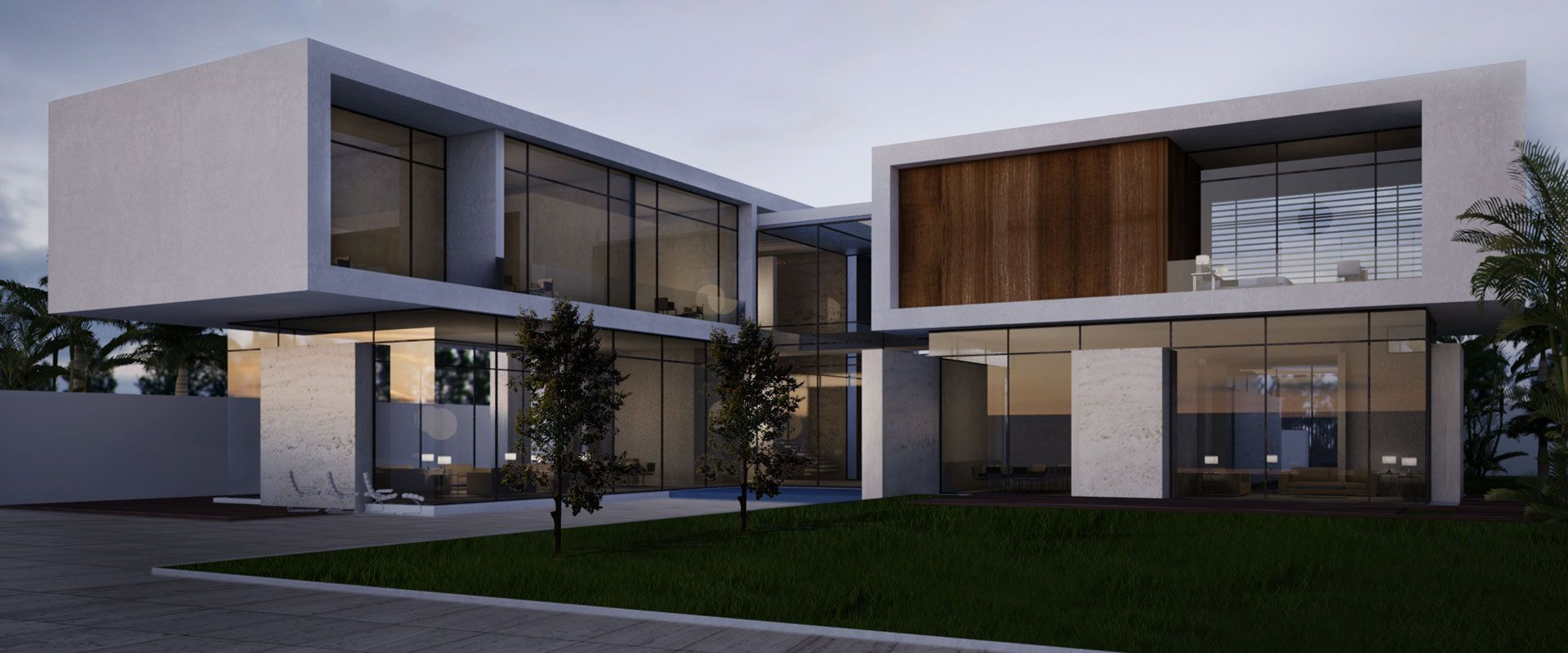 Welcome to whitespace architects dubai uae pinterest for Modern house uae