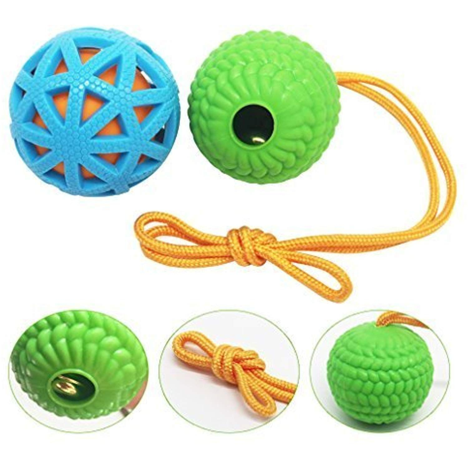 Michley Dog Training Ball On Rope Reward And Exercise Toys For