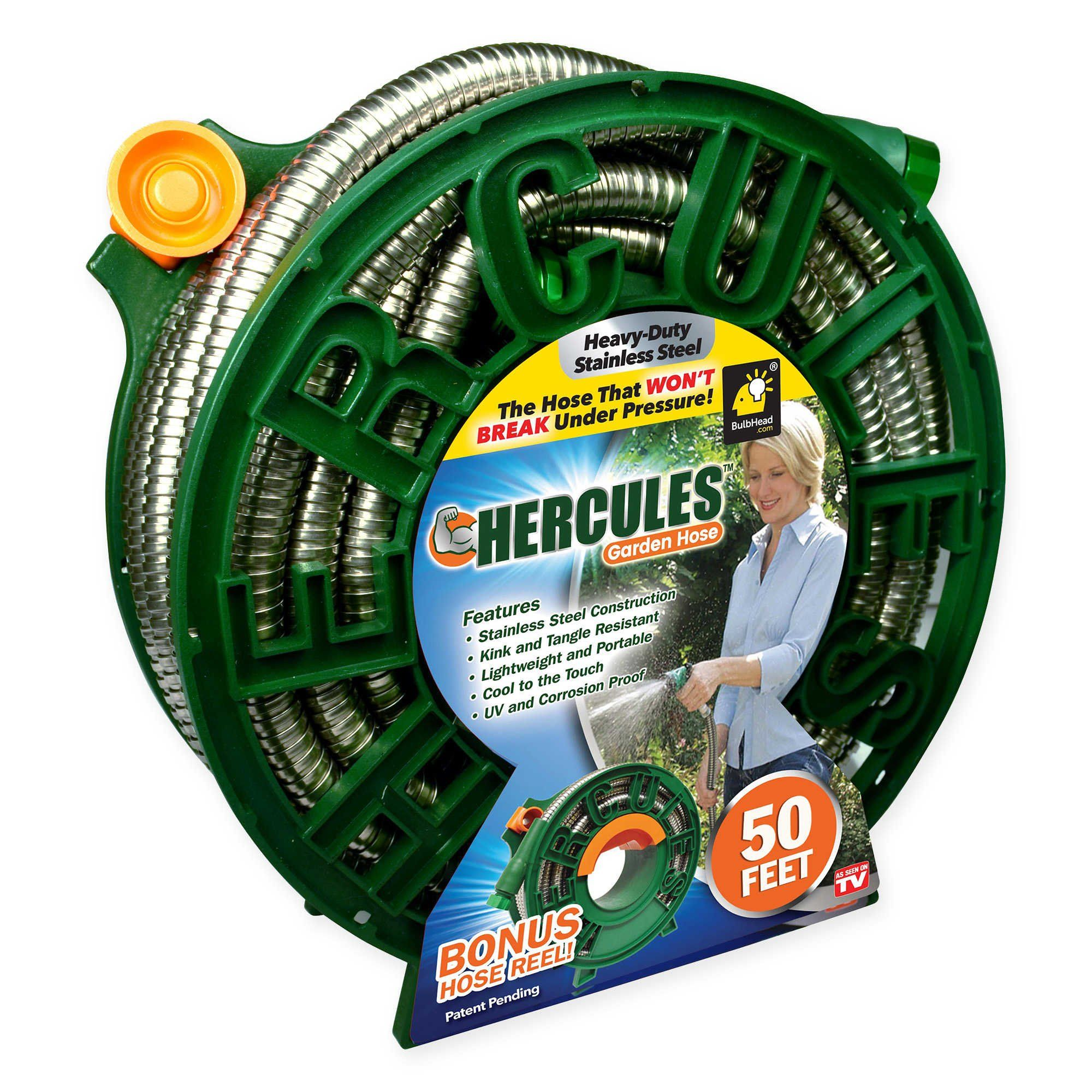 Hercules Lightweight And Portable 50 Feet Garden Hose Resistant To