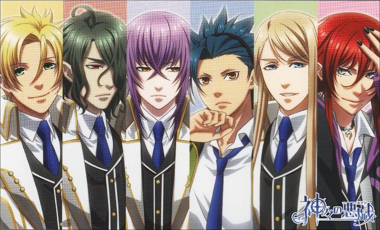 Kamigami no Asobi Males. •*´* Reverse Harem Animes დ