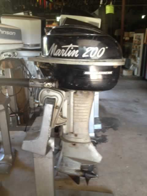 The Martin motors were another line sold by Sears ! Boy