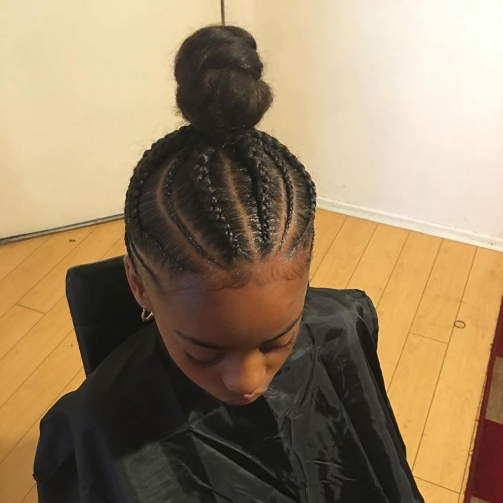 French Braid Ponytail With Weave Girls And Hair In 2019