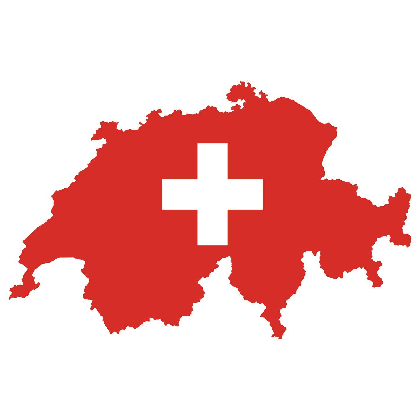 Switzerland Flags Of The World Icon Removable Wall Adhesive Decal In 2021 Map Of Switzerland Flag Vector Swiss Flag