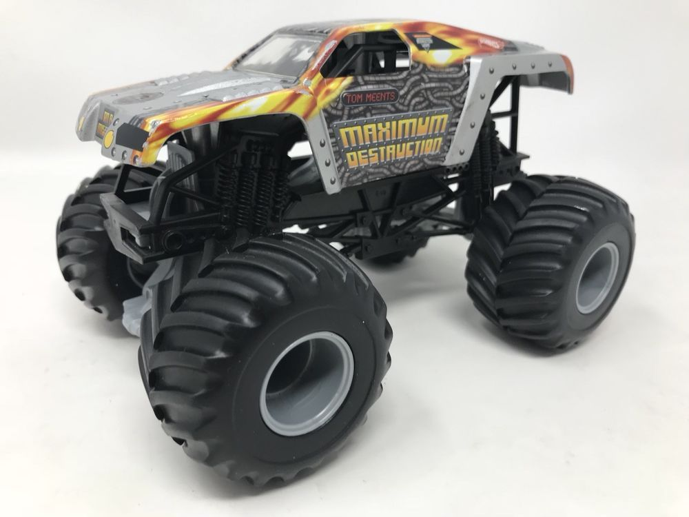 1 24 Hot Wheels Monster Jam Maximum Destruction Truck Diecast Brand New Rare Hotwheels Monster Trucks Hot Wheels Monster Jam Hot Wheels