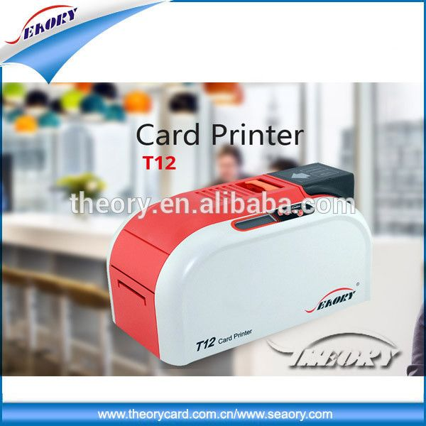 Pvc id card digital thermal printer from shenzhen seaory for cr80 id card printerplastic business card printer machine seaory singledual sided reheart Image collections