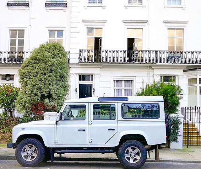 When The Car Matches The House Landrver Of London Landrover Landroverdefender Defender Defender110 Landy O Land Rover Defender Land Rover Dream Cars