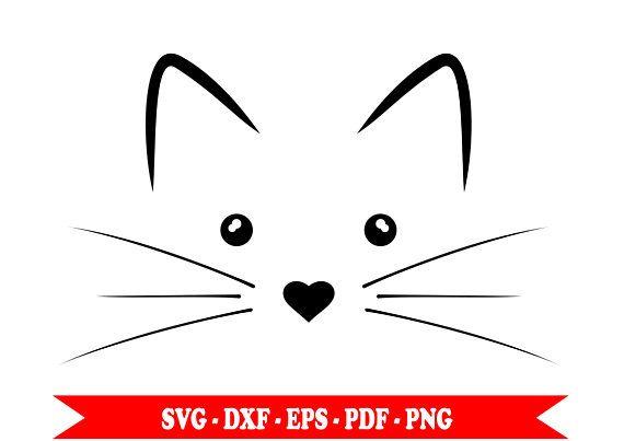 Cat Face Outline Cat Face Cat Face Drawing Face Outline