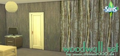 Sims 4 CC's - The Best: Woodwall by nowa
