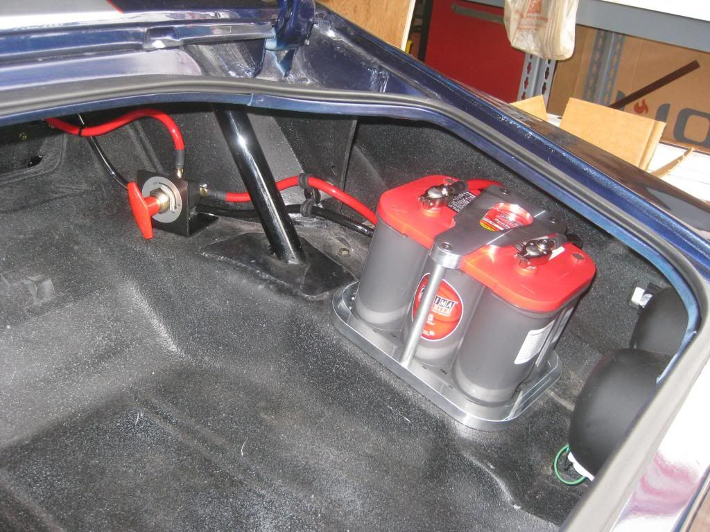 Image Result For Trunk Mounted Optima Battery Hold Down