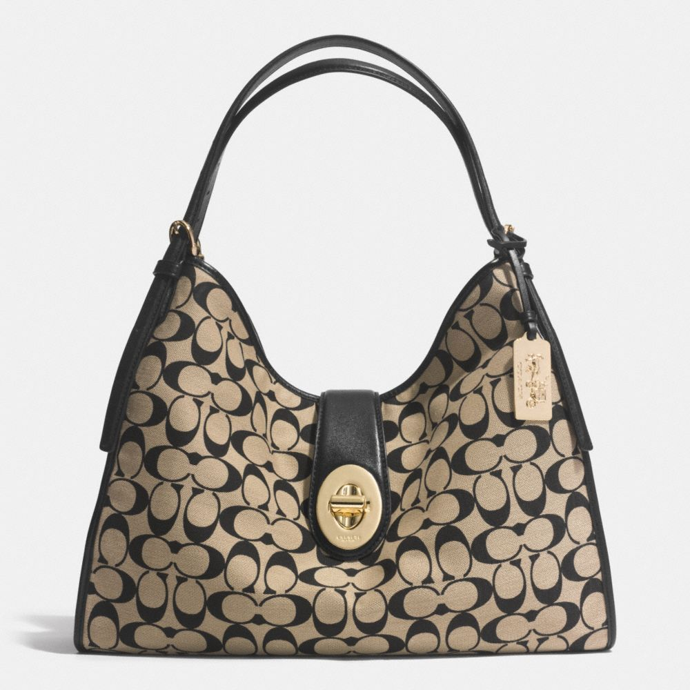 fbe6189ea9 ... germany the madison carlyle shoulder bag in printed signature fabric  from coach db3dd 6fa96