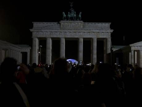 Environmentally friendly Berlin turned off the lights for Earth Hour (Reuters)