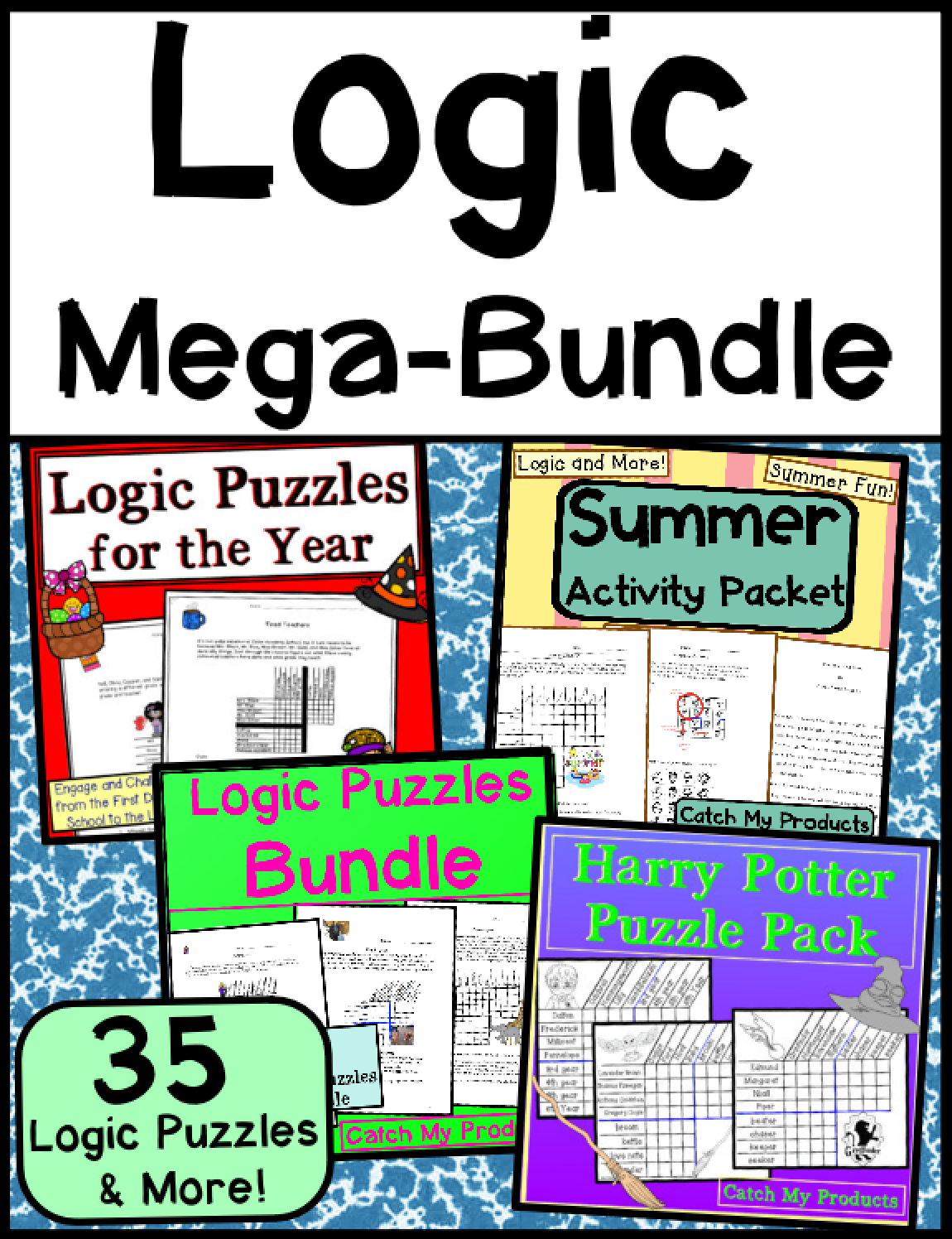 Printable Logic Puzzle Worksheets For Kids Will Provide