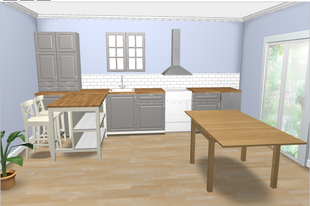 Plan for our kitchen from ikea kitchen planner   Kitchen ...