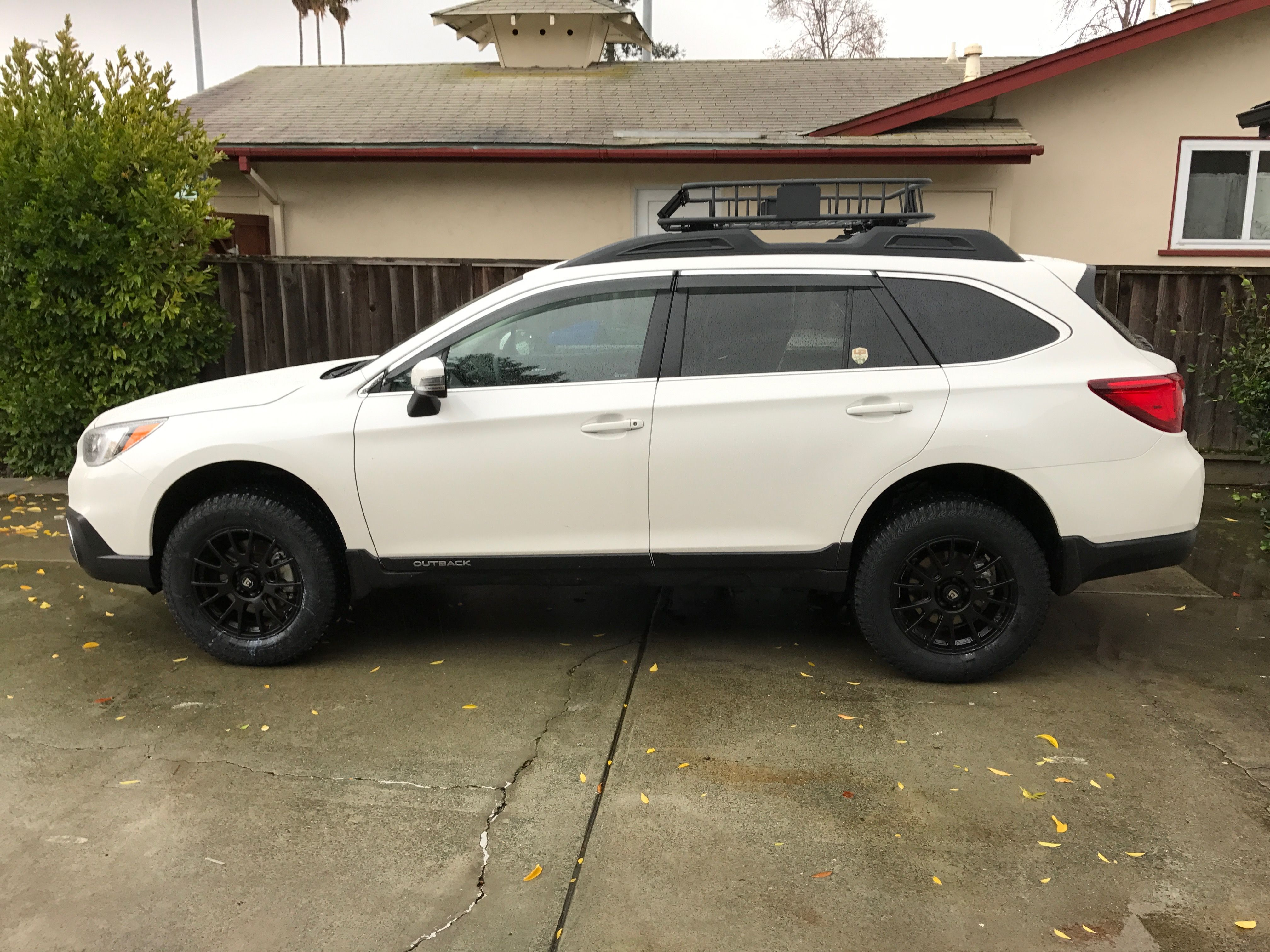 2017 subaru outback 3 6 with lp adventure lift kit kumo ats