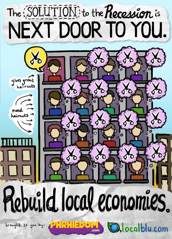 The solution to the recession is next door...
