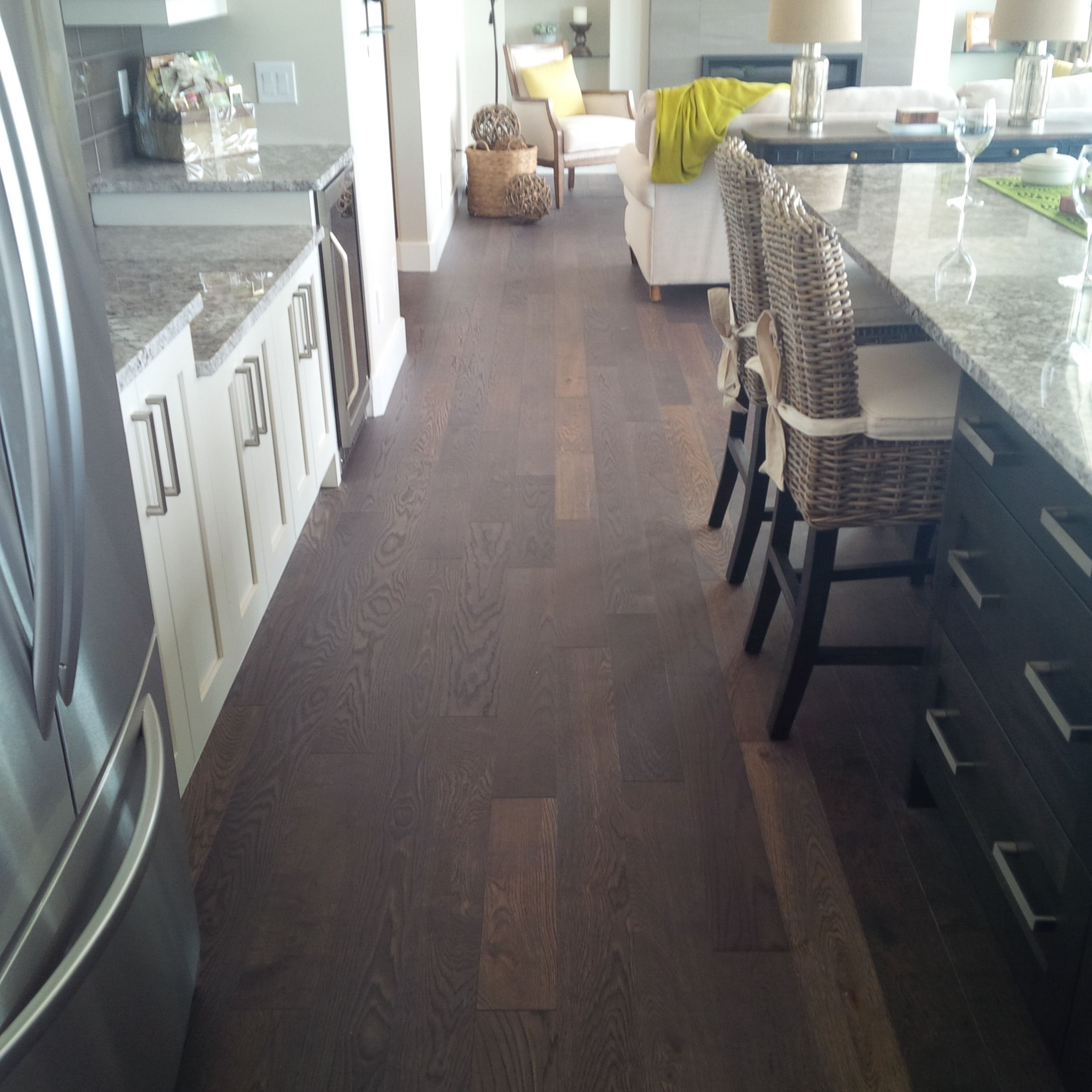 Solid Sawn Wire Brushed White Oak Gotham Uv Oil By Vintage