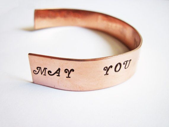 Bracciale personalizzabile, stay forever young di RobertaValle su DaWanda.com