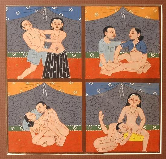 paintings india erotic