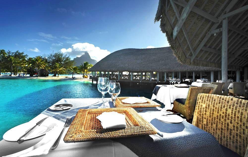 Le Tiare Restaurant Merin Bora Photo Copyright Starwood Hotels Resorts Worldwide Inc