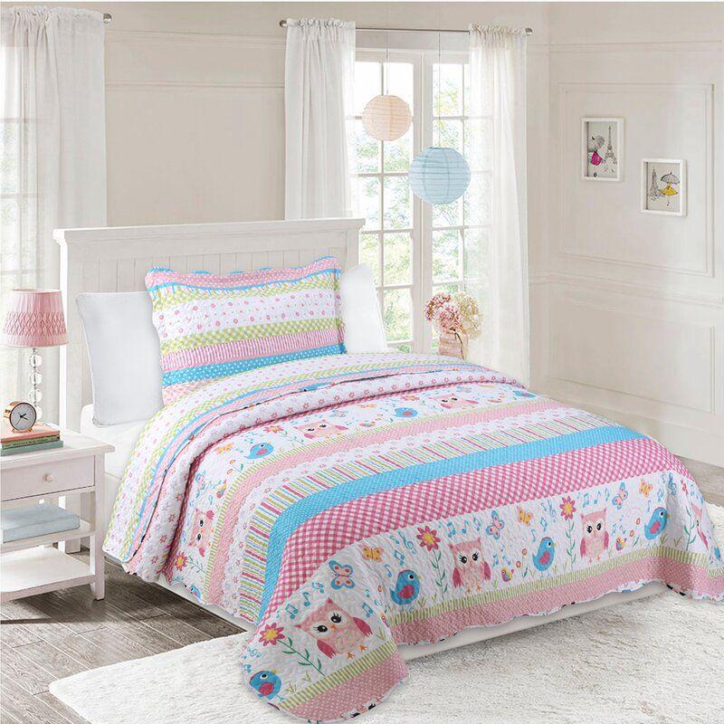 Burgett Kids Reversible Quilt Set In 2020 Quilt Sets Quilt Sets Queen Girl Beds