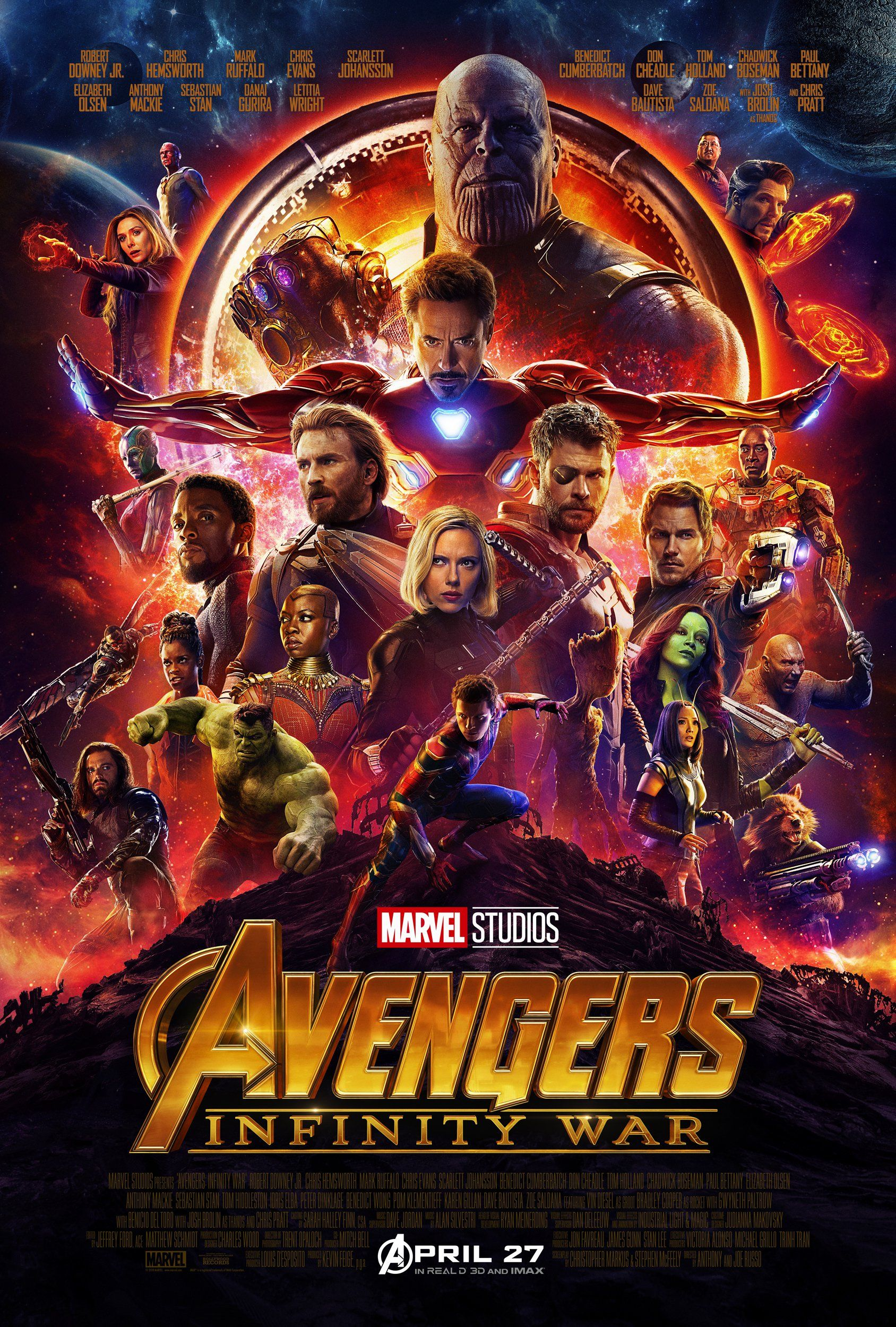Final Avengers Infinity War Poster Pays Off In A Big Way S