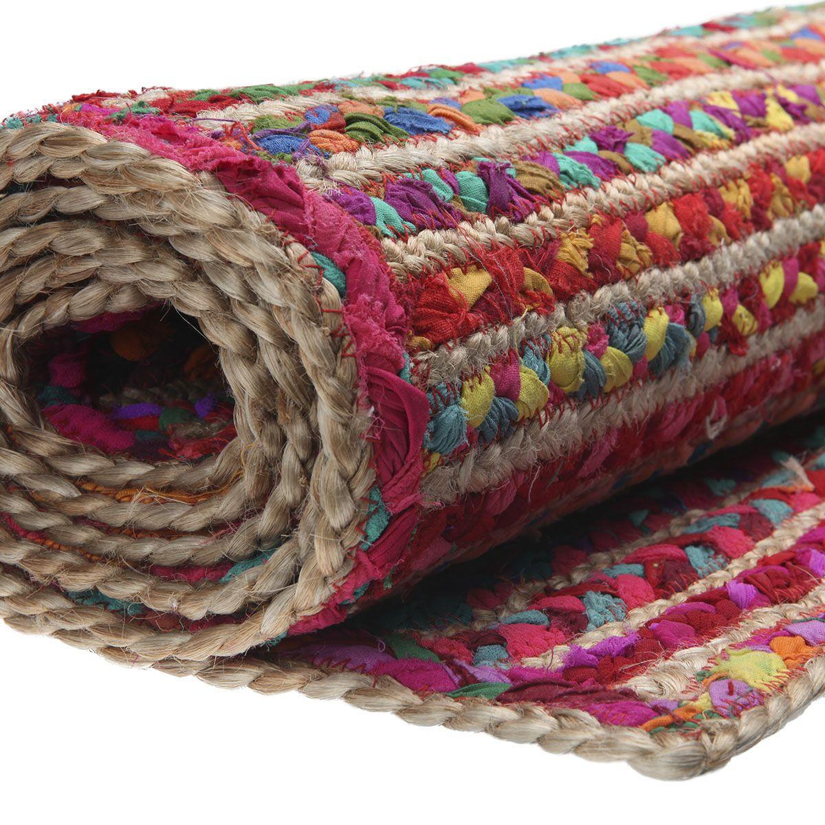 sarah sue teppich colorade upcycling aus stoffresten. Black Bedroom Furniture Sets. Home Design Ideas