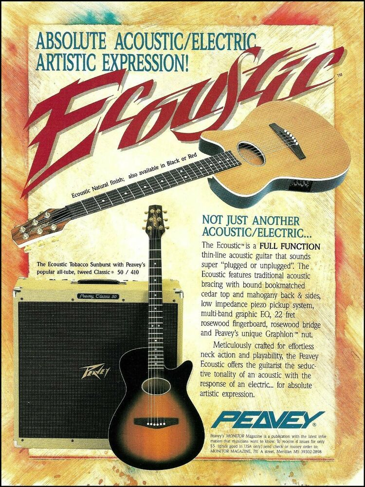 peavey b pickup wiring diagram peavey ecoustic series acoustic electric guitar classic 50 410 amp  acoustic electric guitar