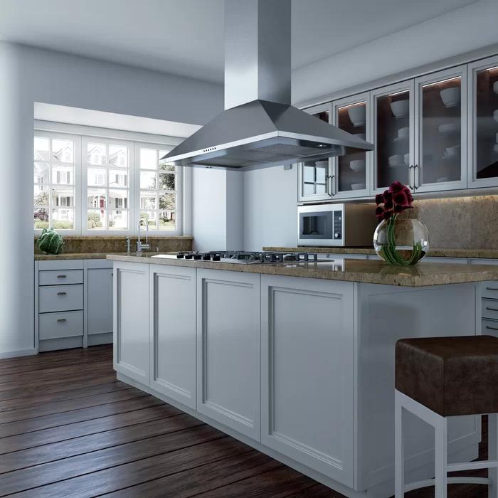 36 600 Cfm Convertible Island Range Hood Kitchen Remodel Small Kitchen Inspiration Design Island Range Hood