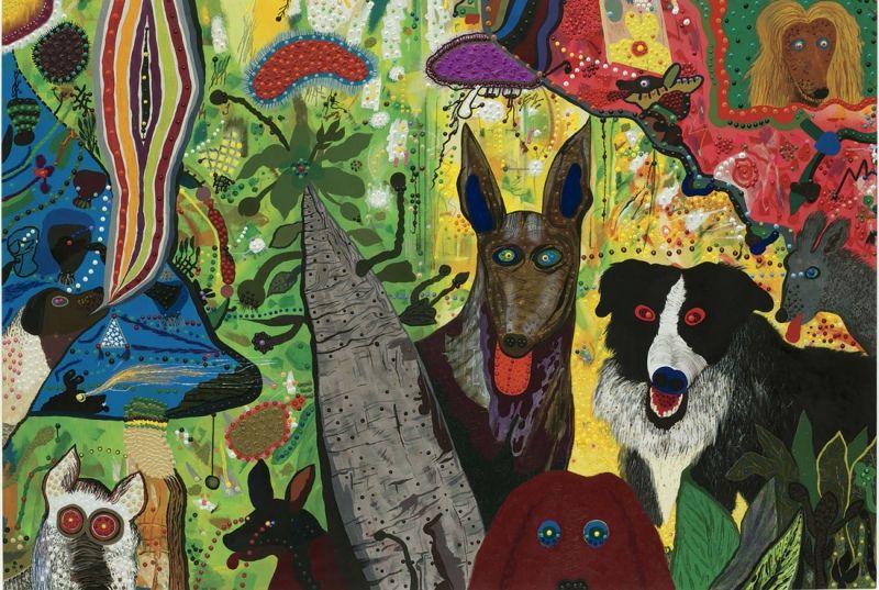 The Art of Roy De Forest in 2020 Art, Dog art, Museum of