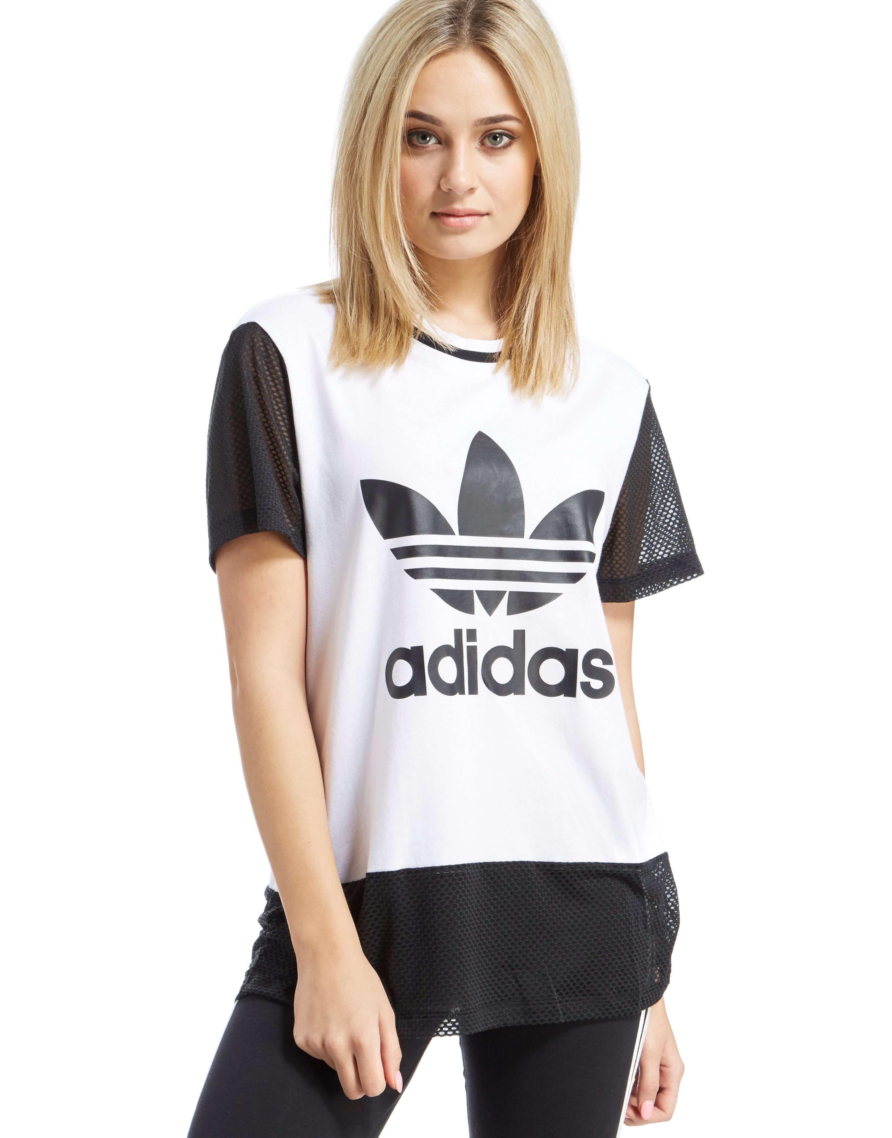 ADIDAS ORIGINALS Women's Trefoil T-Shirt | jdsports.co.uk ...