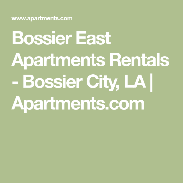 Bossier East Apartments Apartments