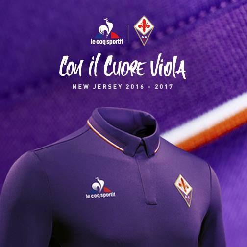de62f3d3d Nova camisa Le Coq Sportif da Fiorentina