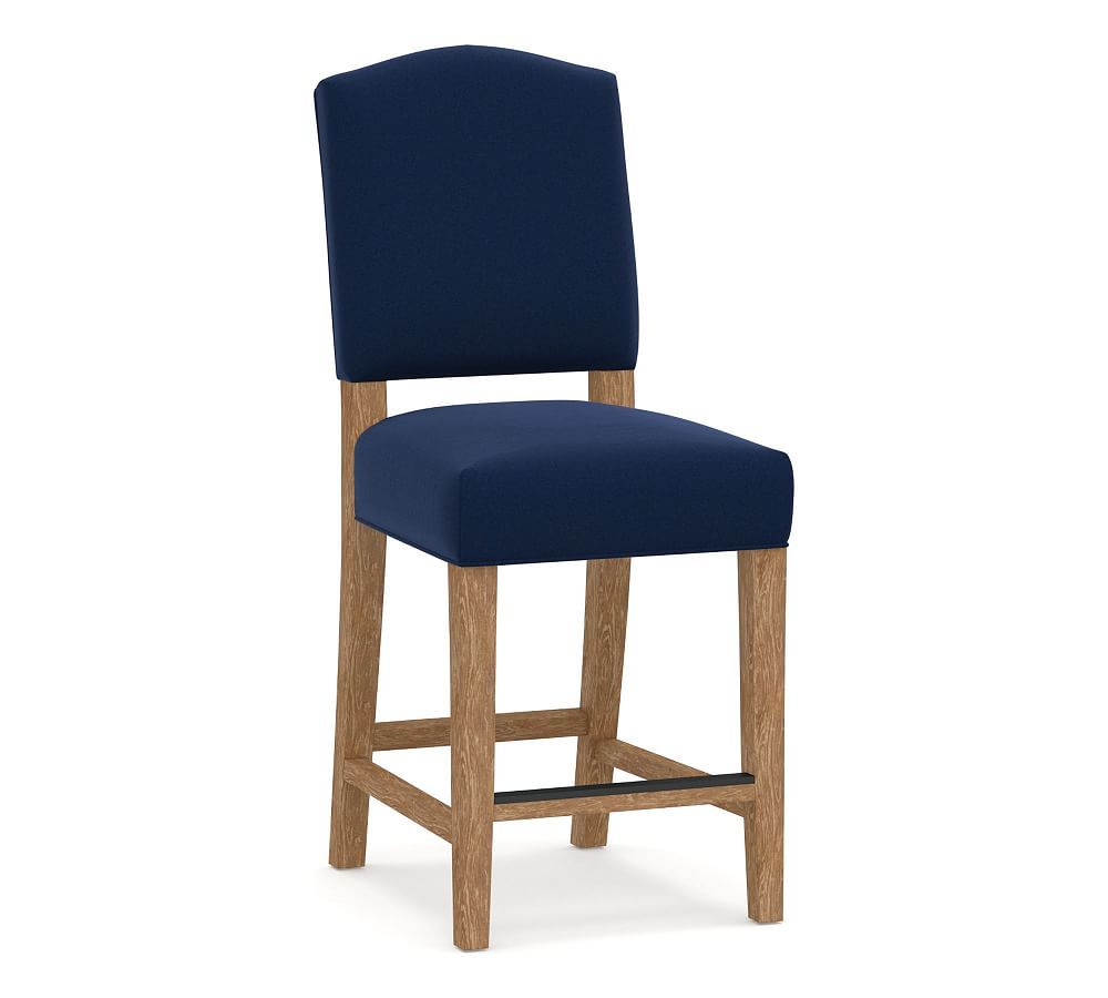 Ashton Upholstered Bar Counter Stools Bar Stools Counter Height Bar Stools Navy Furniture