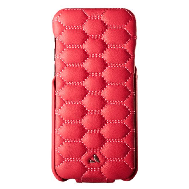 +PREORDER+ Top Matelasse Quilted Flip Top iPhone 7 leather case +Ships in 3 weeks.!