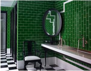 Homepage Interior Design Green Tile Bathroom Green Bathroom Green Subway Tile