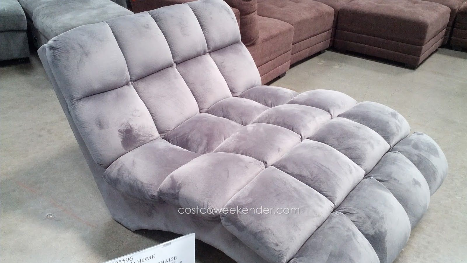 Emerald Home Boylston Double Chaise Lounge at Costco : costco chaise lounge - Sectionals, Sofas & Couches