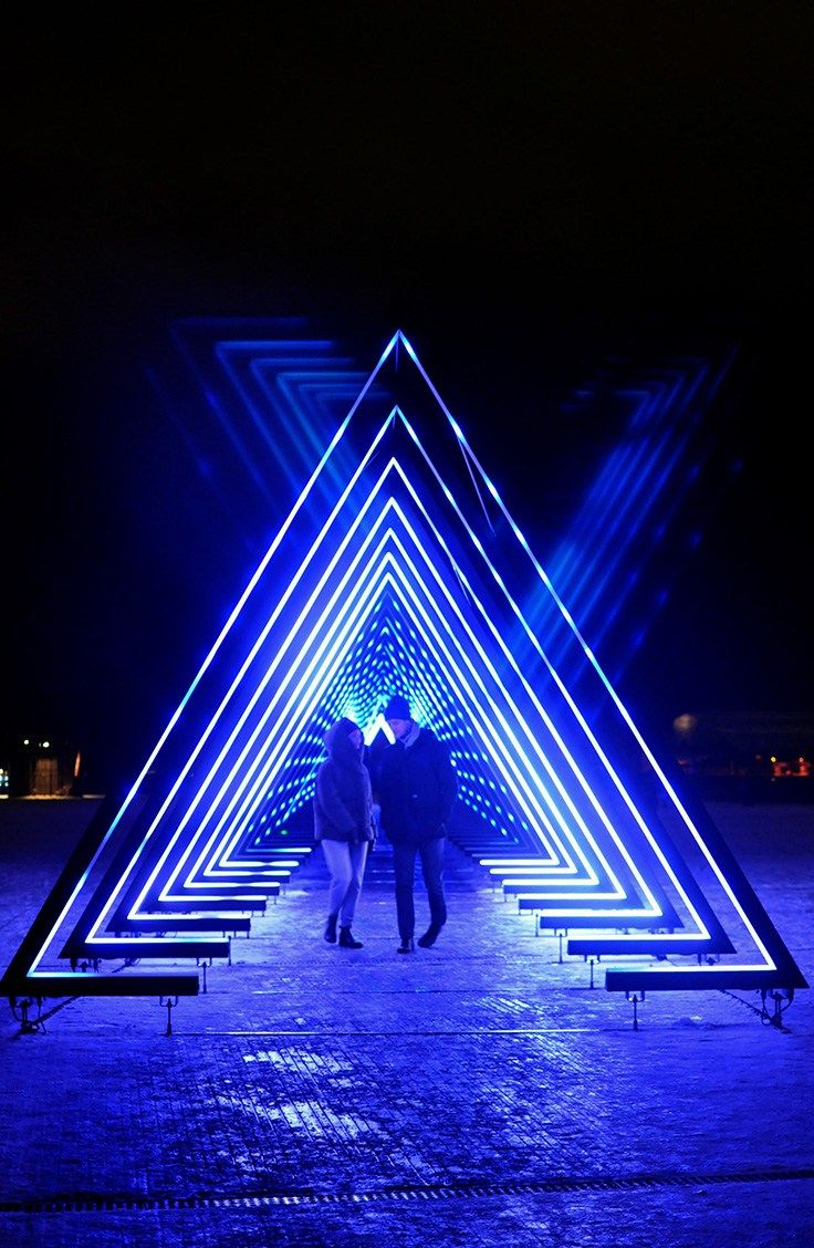 Lighten Up Copenhagen with Winter Light Festival #lightartinstallation