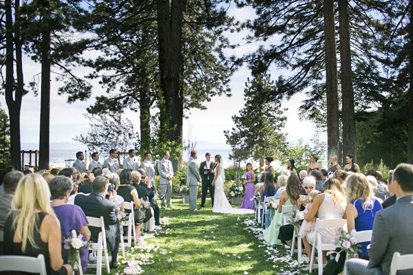 Lakeside Cottage Green Hyatt Regency Lake Tahoe Weddings At Resort Spa And Pinterest