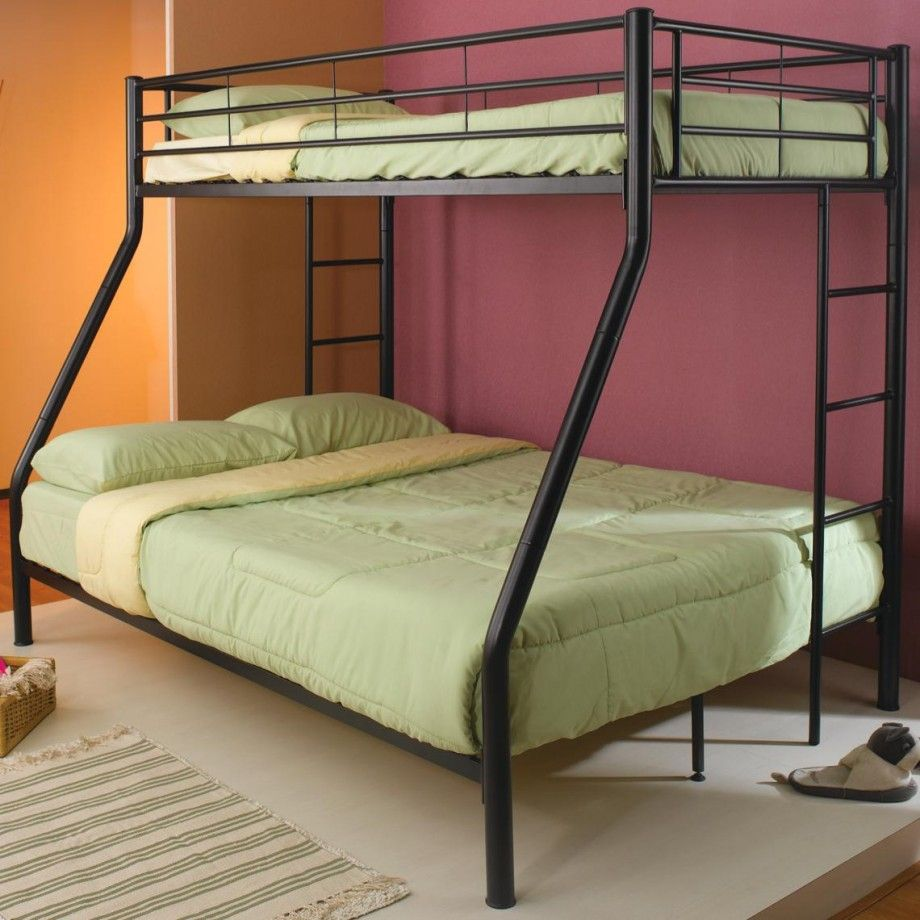 Loft bed plans for full size mattress  Brilliant Design Kids Metal Bunk Beds  Littles Places and Spaces