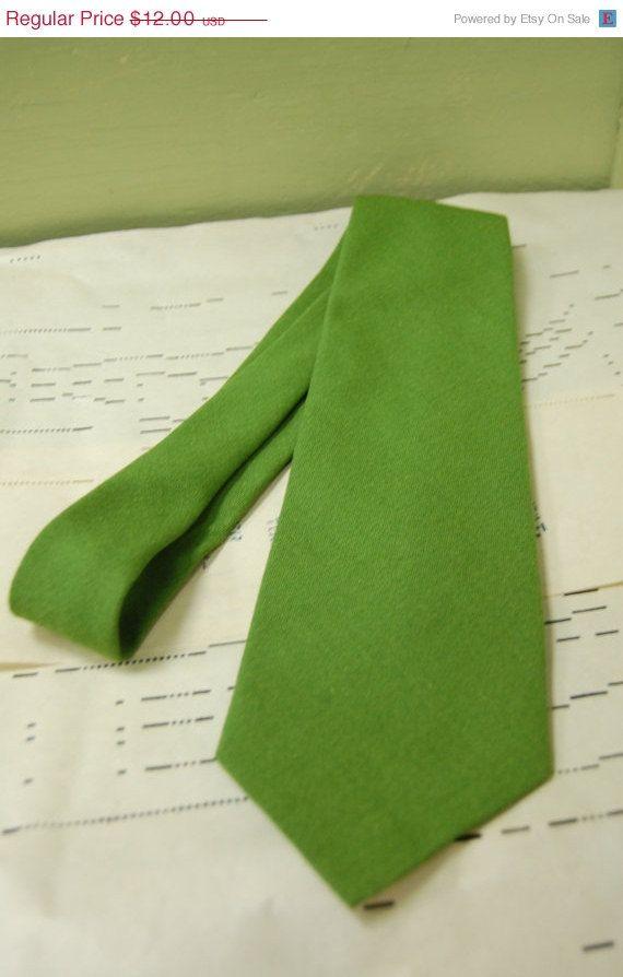 1960s Kermit Green Tie $10