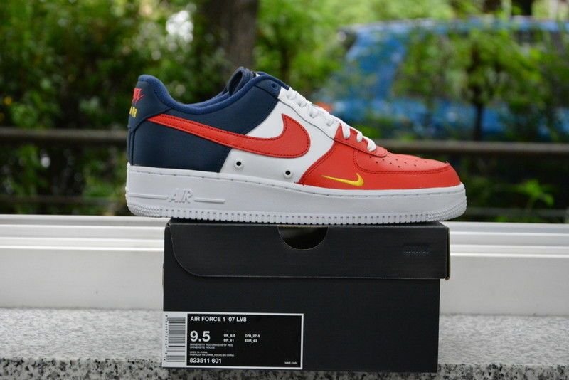 best sneakers c1b76 adc72 Nike Air Force 1 LV8 AF1 Mini Swoosh Independence Day USA 823511-601 #Nike  #BasketballShoes