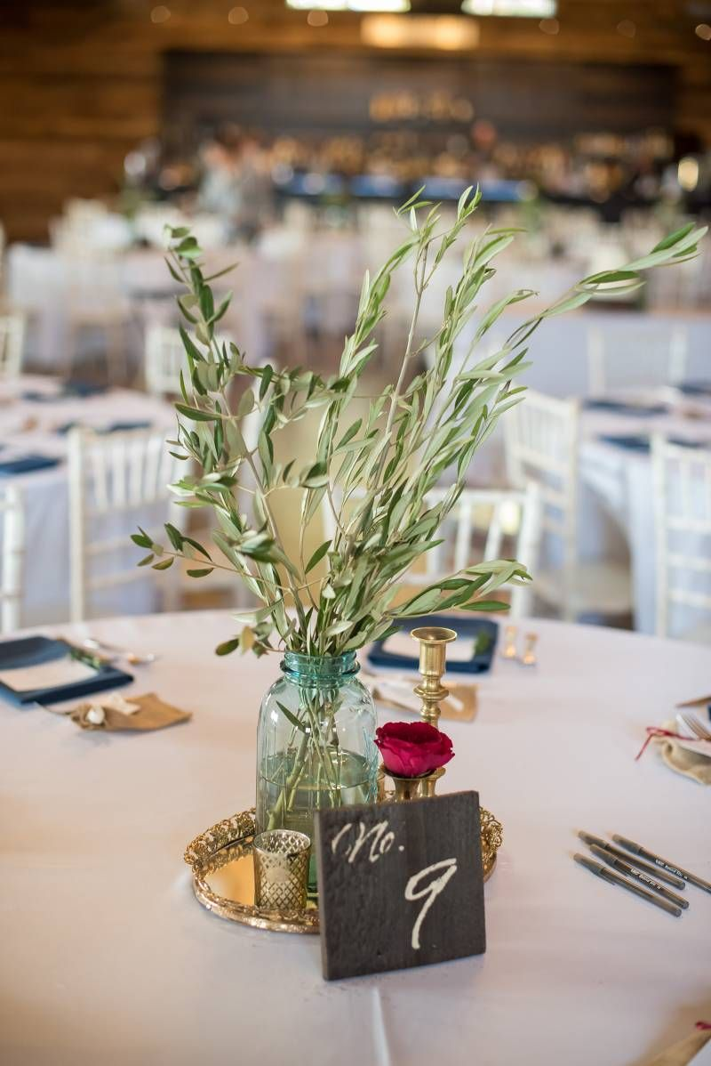 Olive Tree Branches Centerpieces Rustic Minimal Sophisticated Wedding At The Fields Reserve Tree Branch Centerpieces Branch Centerpieces Wedding Decorations